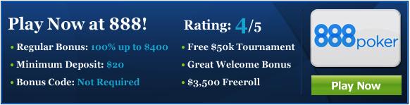 Depositing At 888 Poker Deposit Options For 888 Poker